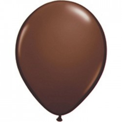 Ballons Qualatex 28 cm - Chocolate Brown (par 100)