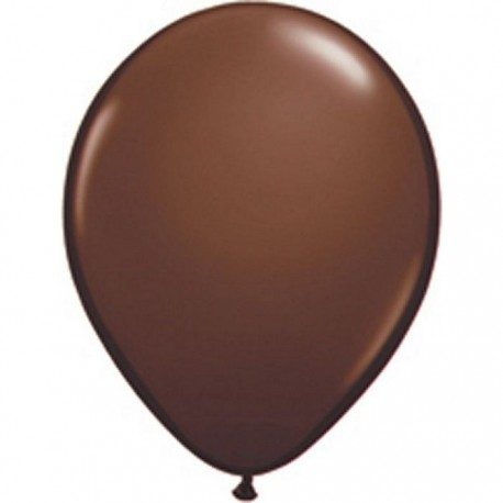 Ballons Qualatex 28 cm - Chocolate Brown - par 100