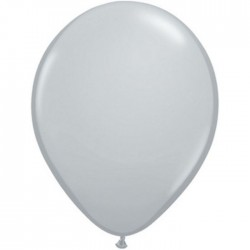 Ballons Qualatex 28 cm - Gris (par 100)