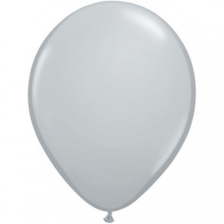 Ballons Qualatex 28 cm - Gris