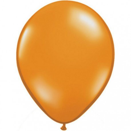 Ballons Qualatex 28 cm - Mandarine Orange - par 100