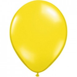 Ballons Qualatex 28 cm - Jaune Citron (par 100)