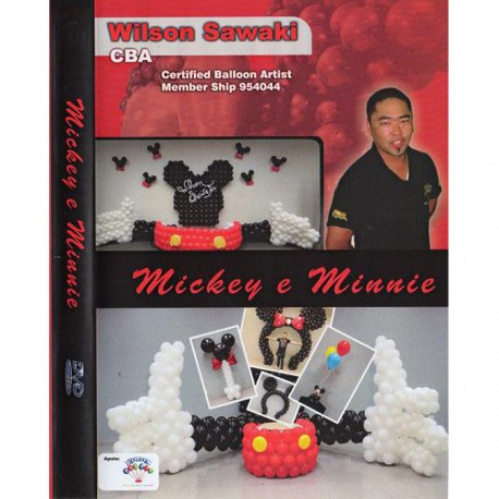 DVD Sculpture ballons – Mickey & Minnie  - Wilson Sawaki