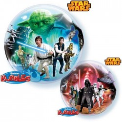 Ballon Bubble Star Wars - 56 CM