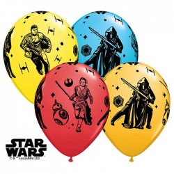 Ballons Star Wars - Le Réveil de la force - Assortiment (par 25)
