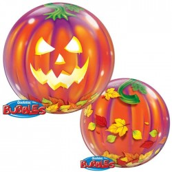 Ballon Bubble Halloween - Jack O'Lantern - 56 cm