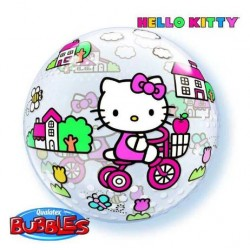 BallonBubble Hello Kitty Anniversaire - 56 cm