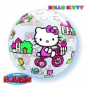 Ballon Bubble Hello Kitty Tricycle - 56 cm