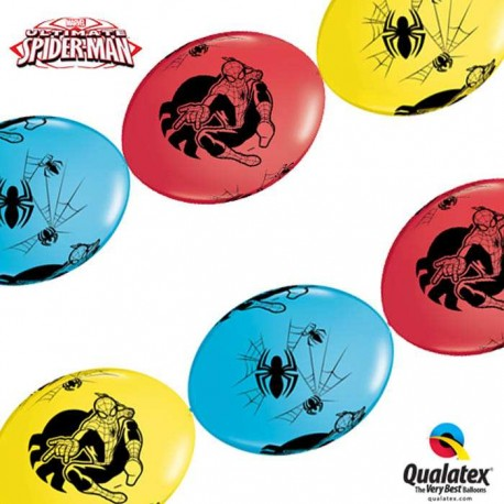 Ballons Link O Loon Ultimate Spider Man - Assortiment (par 50)