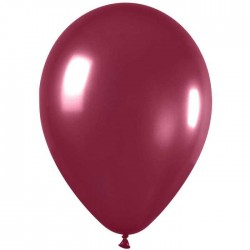 Ballons Sempertex 28 cm - BORDEAUX METAL (par 100)