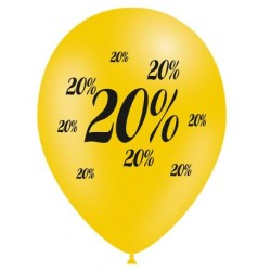 Ballons Soldes - 20 %