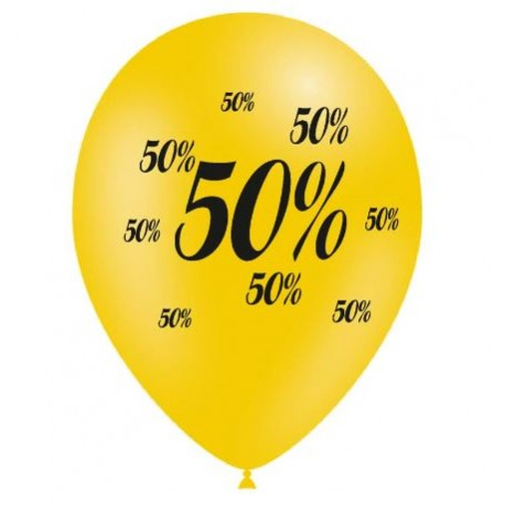 Ballons Soldes -50%