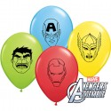 "Ballons Assortiment ""Marvel's Avengers Assemble Faces"" - 13 cm (par 100)"
