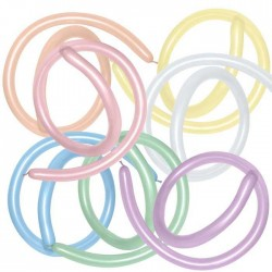 Ballons Sempertex 260Q - Assortiment Satin (par 100)