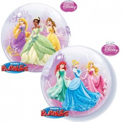 Ballon Bubble Princesses Disney - 56 cm